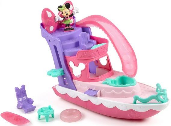 bateau yacht minnie mouse figurine univers disney fisher price. Black Bedroom Furniture Sets. Home Design Ideas