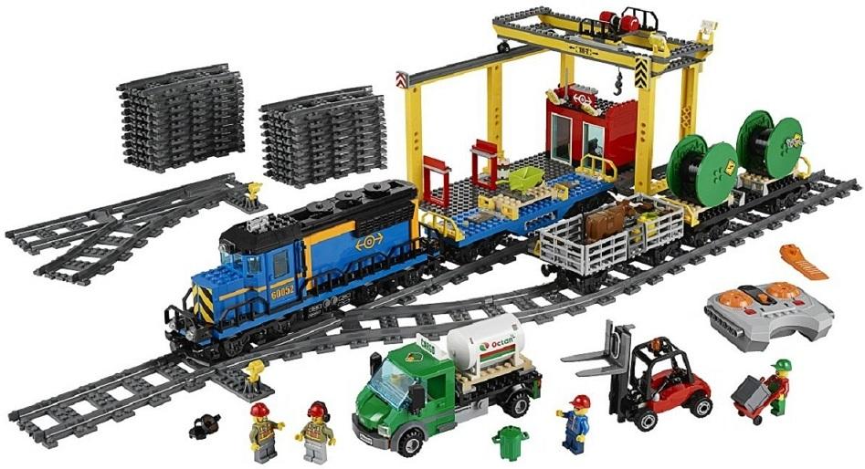 lego city le train de - Dessin Anim Lego City
