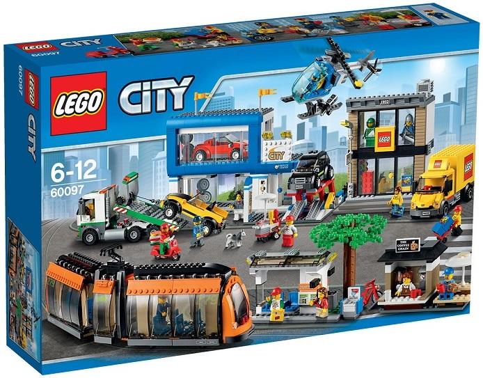 City 60097 Le Lego Centre Caverne Ville Des Jouets USzVMpqG