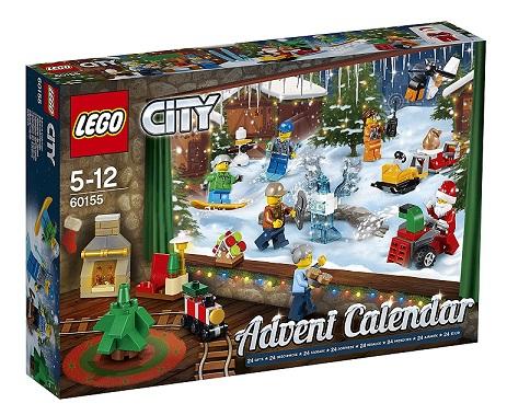 Calendrier Lego City.Lego 60155 City Calendrier Avent 2017 Cavernedesjouets