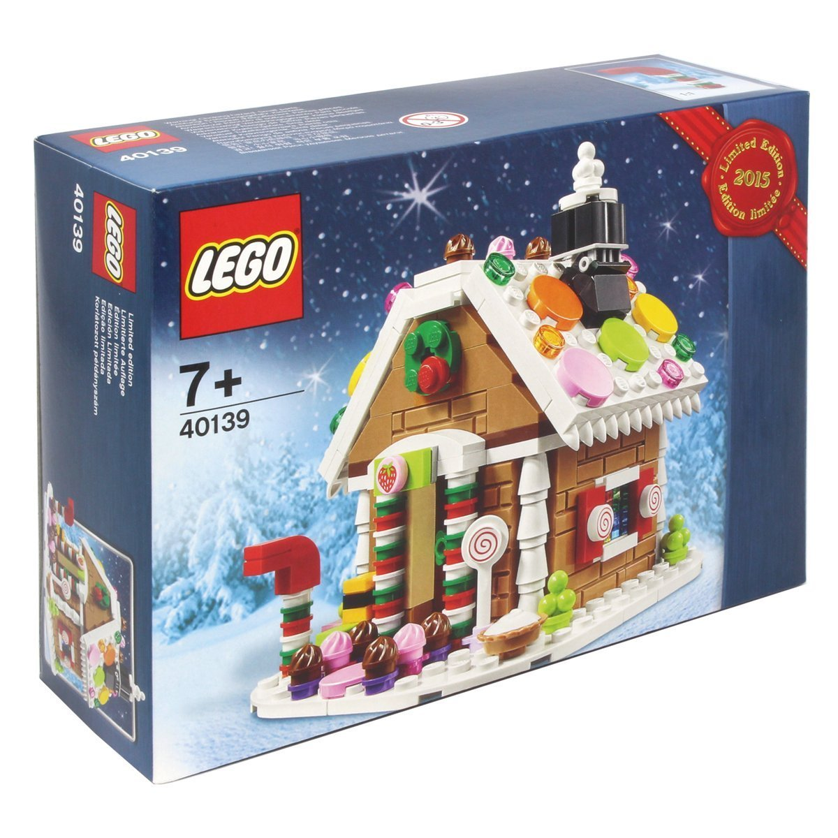 Lego collection 40139 la maison en pain d 39 pice for Modele maison lego