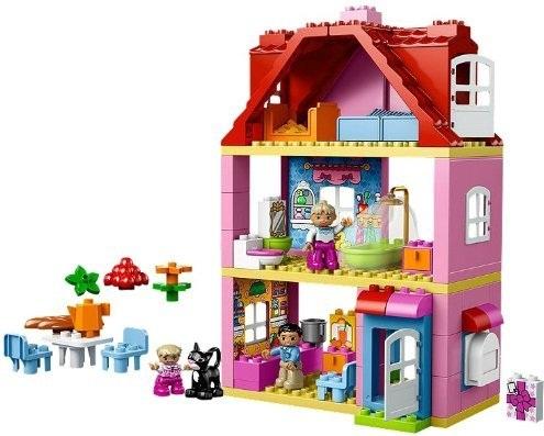 lego duplo legoville lego 10505 maison de famille duplo. Black Bedroom Furniture Sets. Home Design Ideas