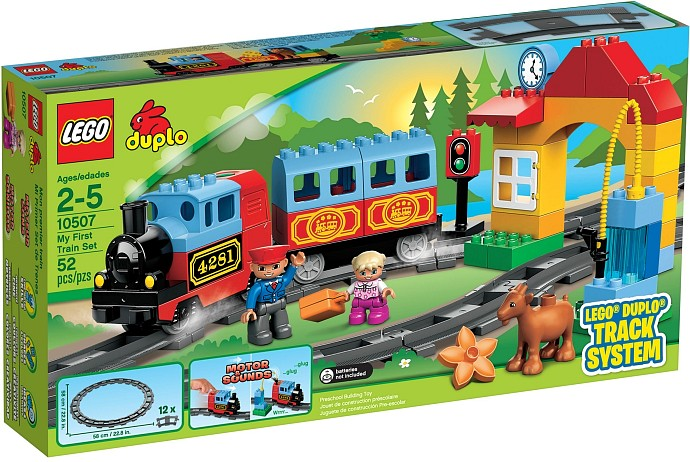 achat lego duplo legoville 10507 mon premier train construire. Black Bedroom Furniture Sets. Home Design Ideas