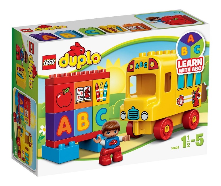 lego 10603 duplo mon premier bus jeu construction. Black Bedroom Furniture Sets. Home Design Ideas
