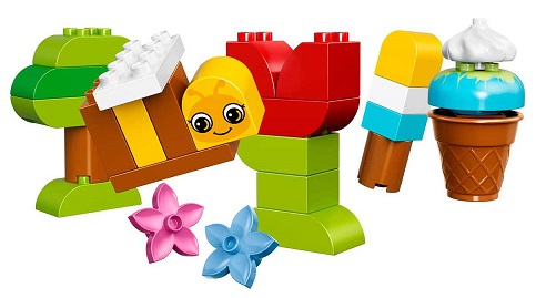 bo te de constructions cr atives lego duplo briques 10817. Black Bedroom Furniture Sets. Home Design Ideas
