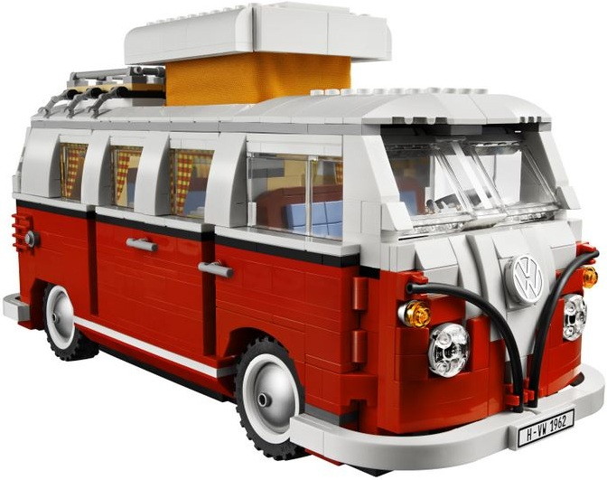 lego prestige lego 10220 camping car volkswagen lego. Black Bedroom Furniture Sets. Home Design Ideas