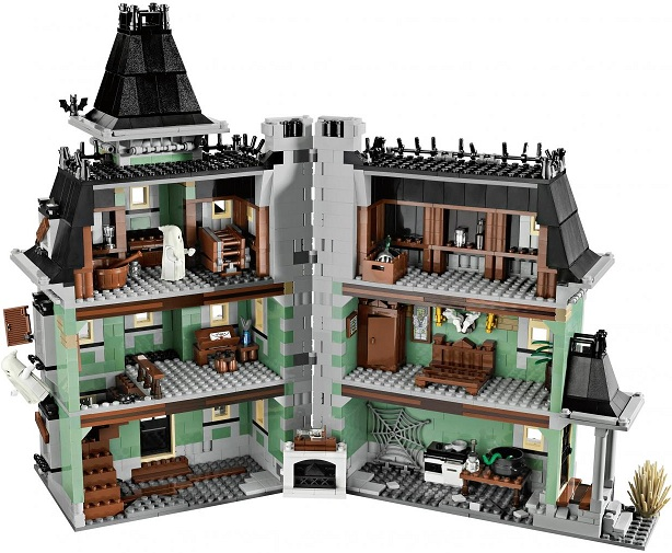 lego monster fighters lego 10228 achat vente maison hante lego. Black Bedroom Furniture Sets. Home Design Ideas