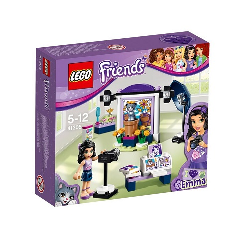 Photo Le 41305 Fille D'emma Studio Lego Jouet Friends KlJ3TF1c