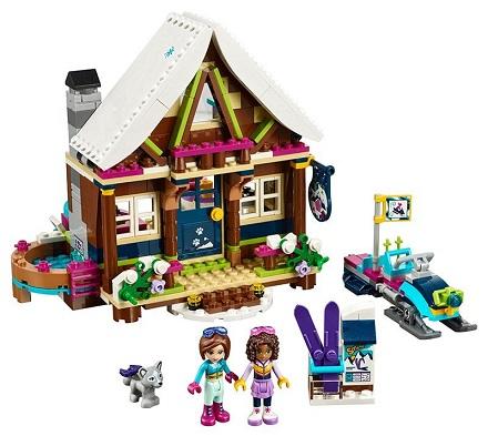Ans La 12 Lego De 7 Friends Le Ski Station Chalet 41323 xdBWCero