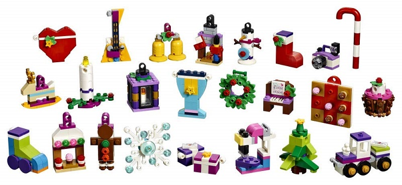 Le L'avent Lego 41353 Calendrier Friends JeuxJouets De shrQdt