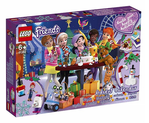 Calendrier De Lavent Pat Patrouille 2019.Calendrier De L Avent Lego Friends 41382 Nouveaute 2019