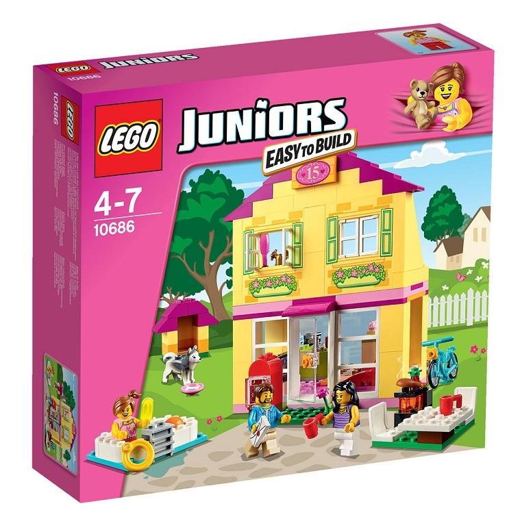 Lego fille 10686 juniors la maison cavernedesjouets for Pelleteuse jouet exterieur