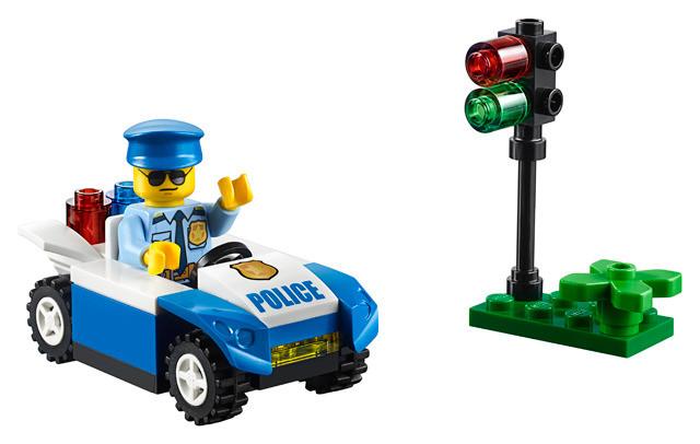 Lego juniors polybag 30339 la voiture de police et et et le policier b6e945