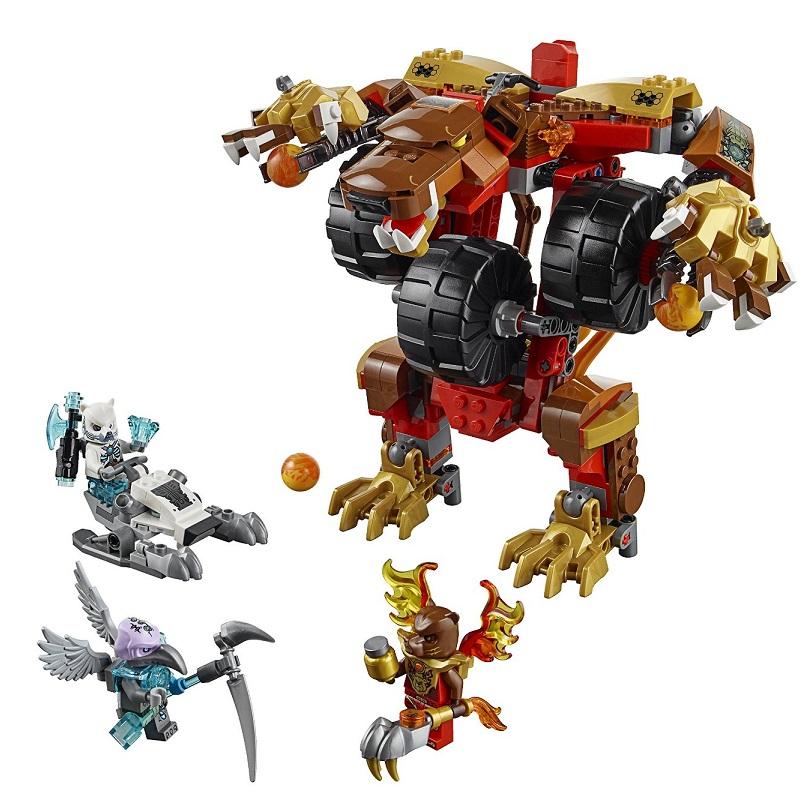 Lego chima 70225 l ours de bladvic caverne des jouets - Image de lego chima ...