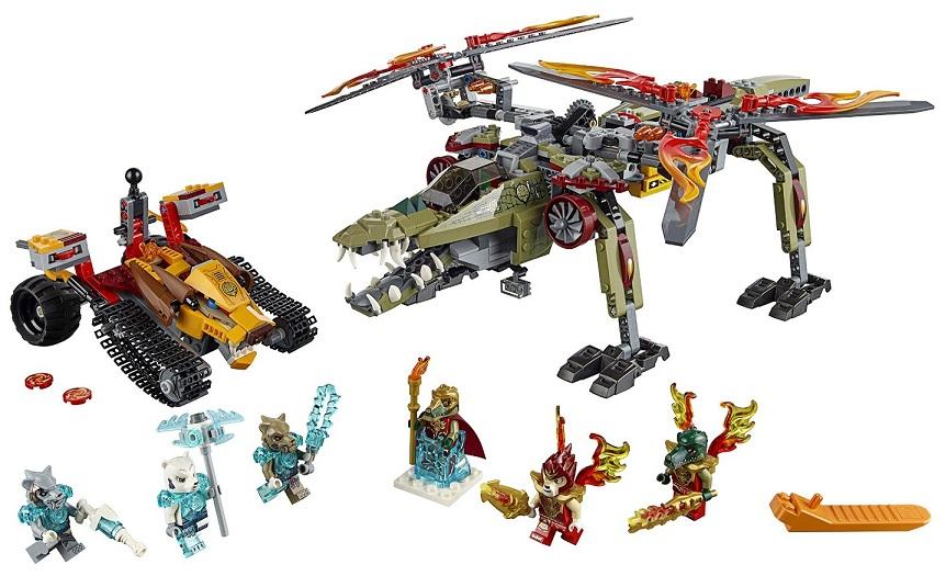 Roi Chima Le Crominus Sauvetage 70227 Cher Moins Du Lego UVGqpzMS