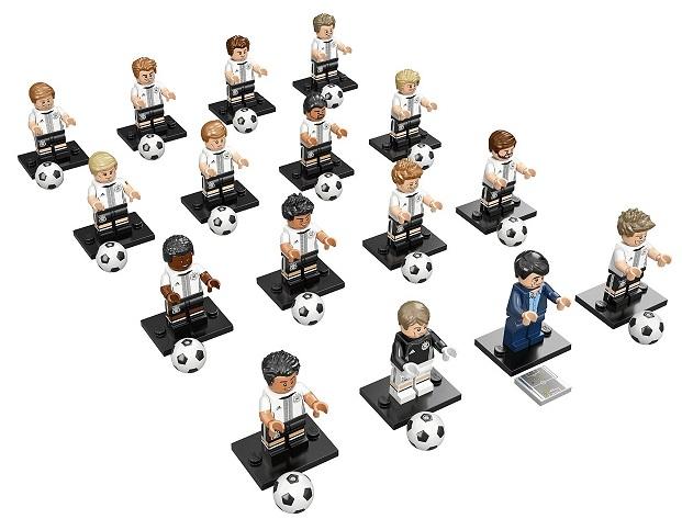 Sachet Football Allemagne 71014 Équipe Lego Minifigures 8OmwvnN0