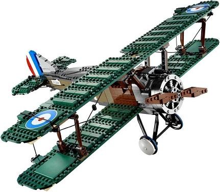 Lego creator lego 10226 achat avion lego sopwith camel - Avion de chasse en lego ...