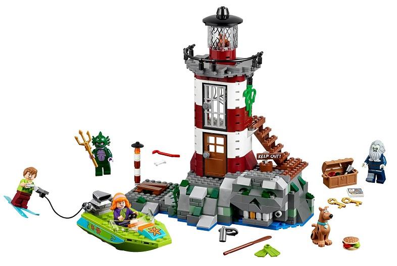 Lego 75903 scooby doo le phare hant nouveaut 2015 - Jouets scooby doo ...