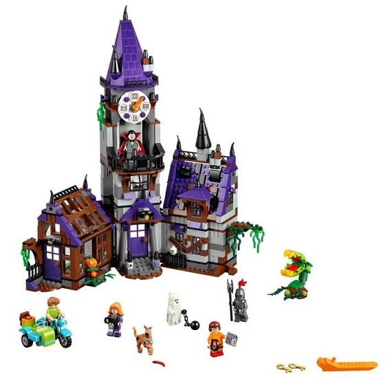 75904 lego scooby doo la maison myst rieuse jeux jouets. Black Bedroom Furniture Sets. Home Design Ideas
