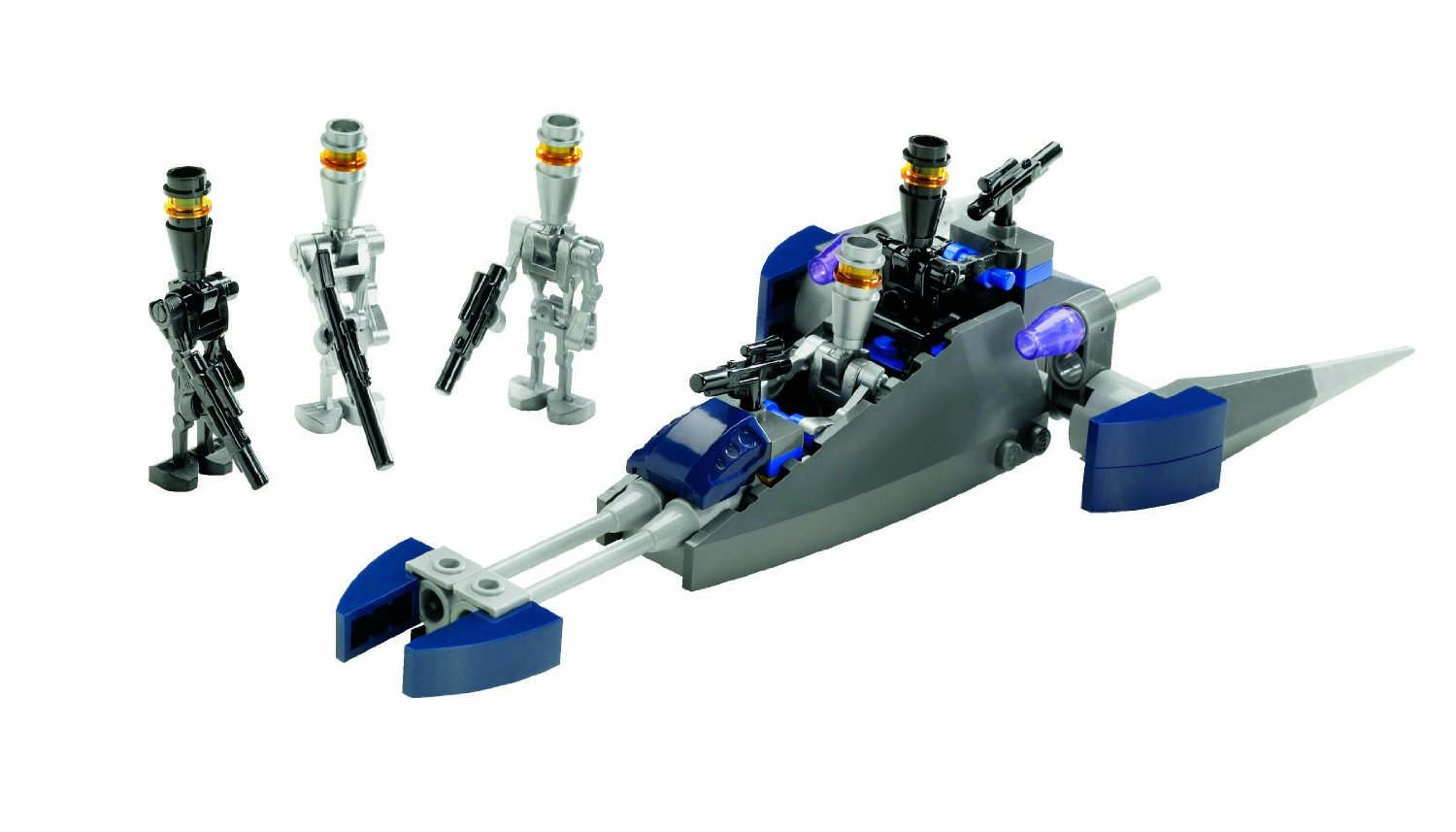 Lego 8015 star wars assassin droids battle pack - Lego star wars vaisseau droide ...