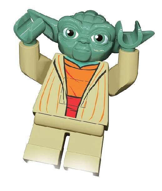 Lampe torche yoda figurine lego star wars achat personnage - Maitre yoda lego ...