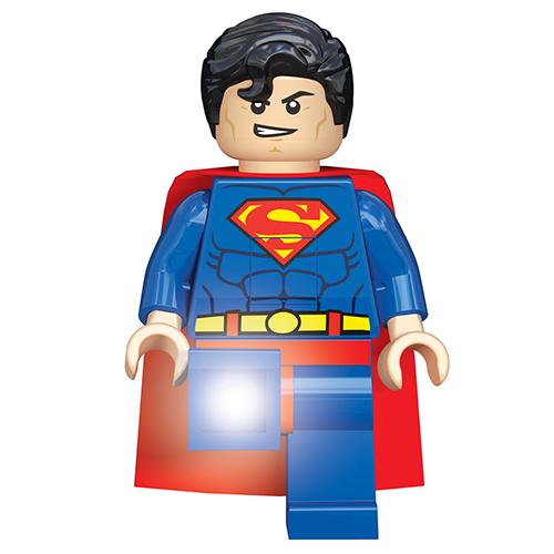 Lampe torche superman figurine lego super heroes achat - Super lampe de poche ...