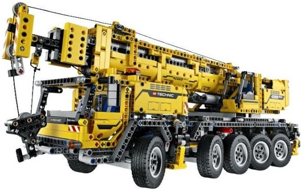 lego technic chantier grue mobile mk ii 42009 lego motoris neuf. Black Bedroom Furniture Sets. Home Design Ideas