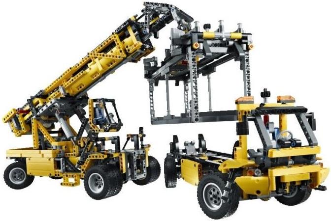 lego technic chantier grue mobile mk ii 42009 lego motoris neuf. Black Bedroom Furniture Sets. Home Design Ideas