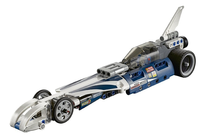 lego technic dragster 42033 le bolide imbattable pas cher. Black Bedroom Furniture Sets. Home Design Ideas