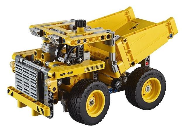 lego technic chantier le camion de la mine 42035 pas cher. Black Bedroom Furniture Sets. Home Design Ideas