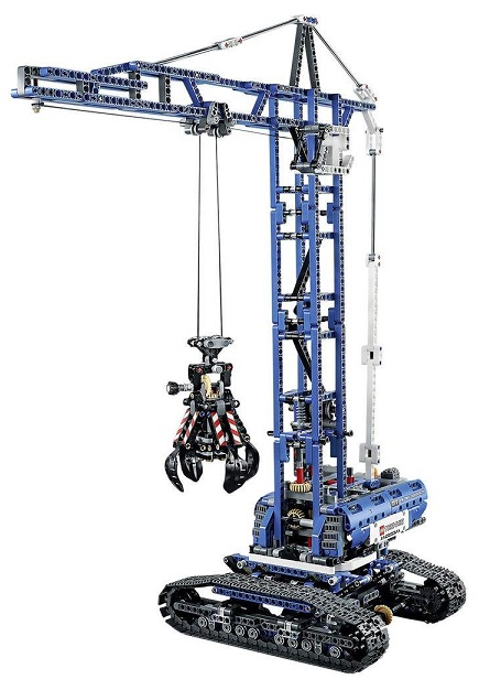 lego 42042 la grue sur chenilles technic nouveaut 2015. Black Bedroom Furniture Sets. Home Design Ideas