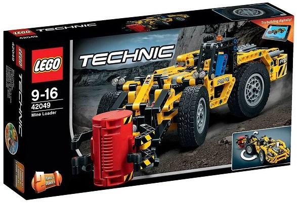 lego technic chantier 42049 la chargeuse de la mine. Black Bedroom Furniture Sets. Home Design Ideas