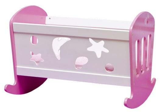 achat vente berceau lit bascule en bois poupon literie. Black Bedroom Furniture Sets. Home Design Ideas