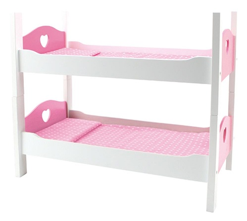 lits superpos s bois c urs poup es caverne des jouets. Black Bedroom Furniture Sets. Home Design Ideas
