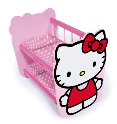 Lit superpos hello kitty poupon caverne des jouets - Conforama lit hello kitty ...