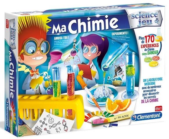 ma chimie 170 exp riences kit chimiste clementoni jeu