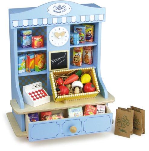 La jolie petite picerie en bois vilac 8171 achat jeu marchande - Epicerie ancienne jouet ...