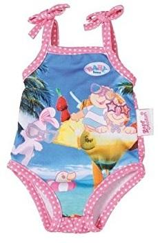 Zapf 821350 habit poup e maillot de bain lapin baby born 43cm - Habit de plage ...