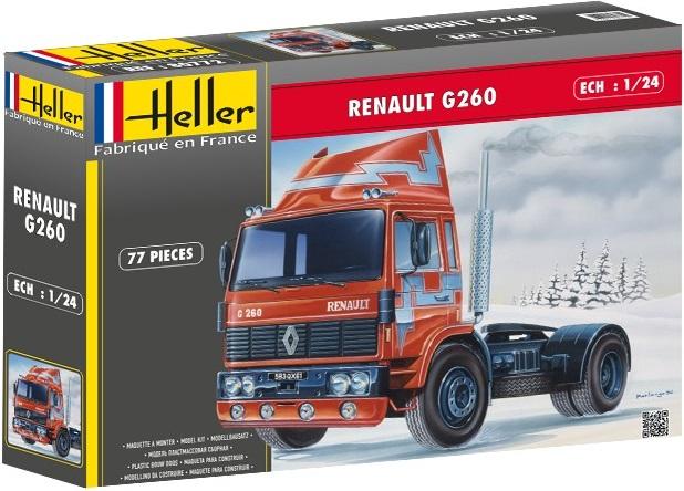 maquette heller poids lourds maquette camion renault g260 achat maquette camion 1 24. Black Bedroom Furniture Sets. Home Design Ideas