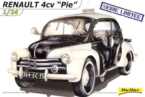 maquette monter renault 4 cv pie voiture ancienne police 80764. Black Bedroom Furniture Sets. Home Design Ideas