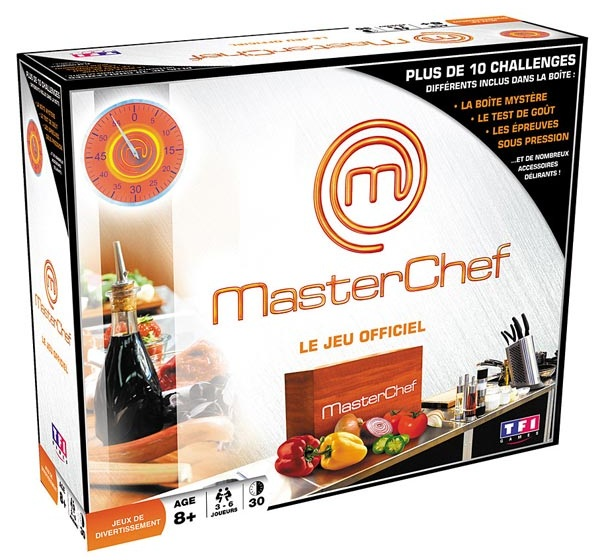 jeu de soci t masterchef jeu de soci t tf1 games jeu. Black Bedroom Furniture Sets. Home Design Ideas