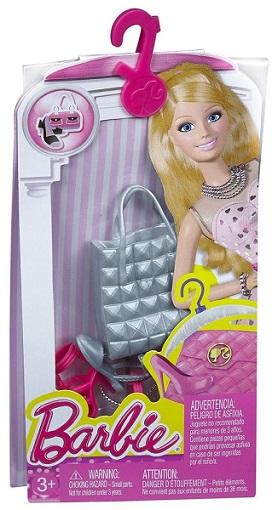 barbie chaussures et accessoires cfx32 de mattel. Black Bedroom Furniture Sets. Home Design Ideas
