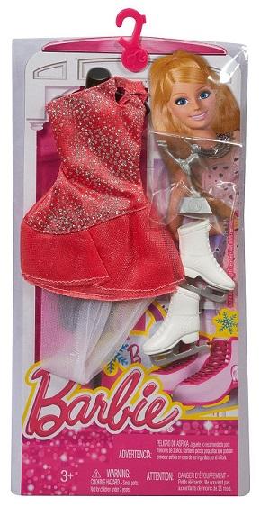 mattel chj29 habits poup es barbie tenues patinage artistique. Black Bedroom Furniture Sets. Home Design Ideas