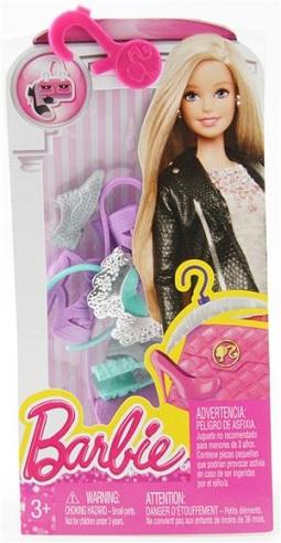 barbie chaussures et accessoires cll56 de mattel. Black Bedroom Furniture Sets. Home Design Ideas
