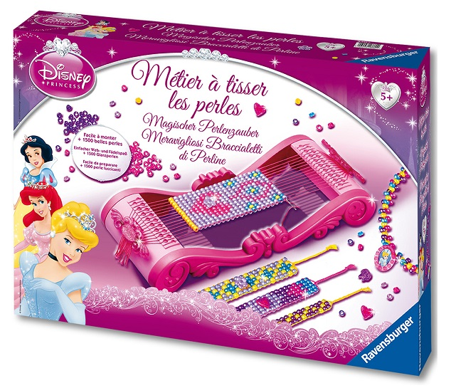 m tier tisser les perles disney princess ravensburger. Black Bedroom Furniture Sets. Home Design Ideas