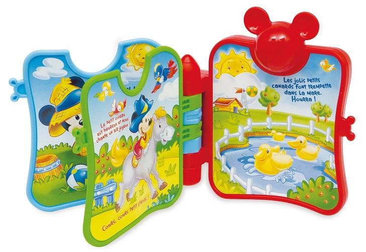 livre musical mickey livre parlant b b baby clementoni disney. Black Bedroom Furniture Sets. Home Design Ideas