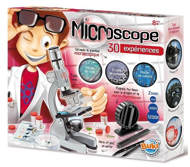 buki france microscope 30 exp riences jeu scientifique achat vente. Black Bedroom Furniture Sets. Home Design Ideas