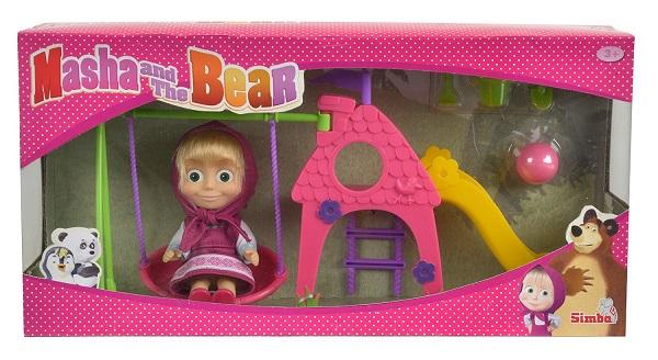 set mini poup e masha et aire de jeu caverne des jouets. Black Bedroom Furniture Sets. Home Design Ideas