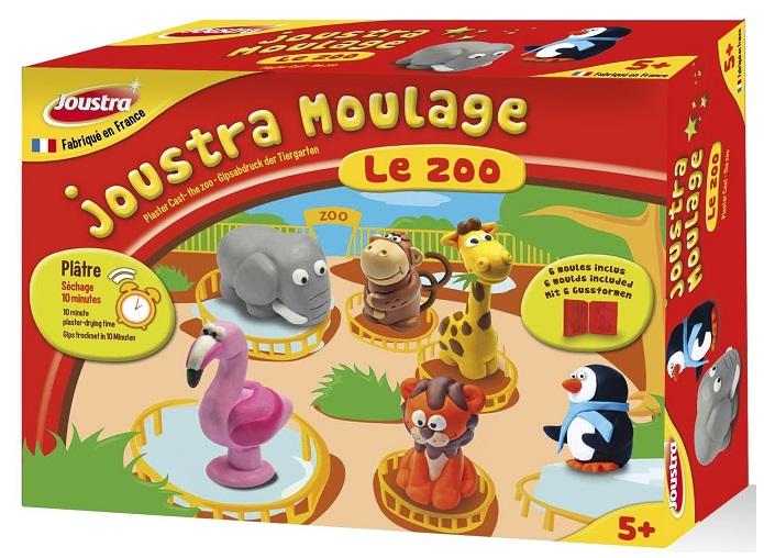 joustra kit de moulage pl tre animaux zoo 6 mod les. Black Bedroom Furniture Sets. Home Design Ideas