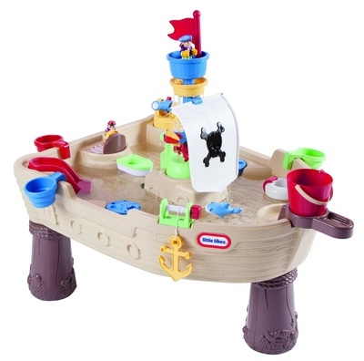 table de jeux d eau bateau pirate little tikes jeu d ext rieur. Black Bedroom Furniture Sets. Home Design Ideas